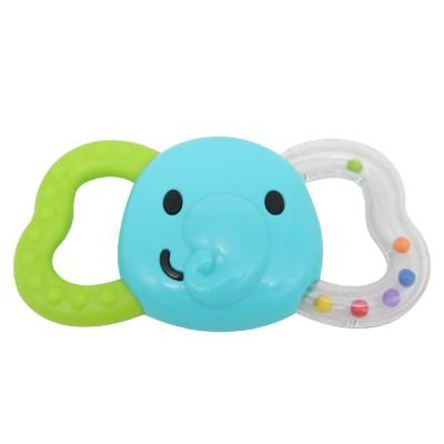 Đồ chơi cầm tay xúc xắc hình voi kiêm gặm nướu mềm Winfun 0165