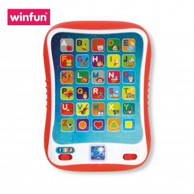 Đồ chơi Ipad nhiều chế độ học tập thông minh cho bé: học chữ, hình khối, đồ vật, âm thanh Winfun 2271