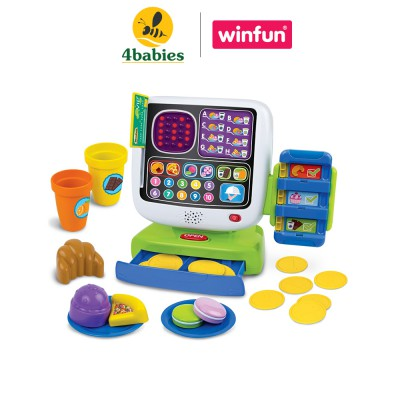 Bộ đồ chơi máy tính tiền siêu thị Winfun 2515