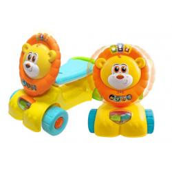 Xe tập đi sư tử kết hợp chòi chân, scooter Winfun 0855NL