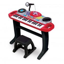 Đàn organ kèm mic và bàn DJ 2068