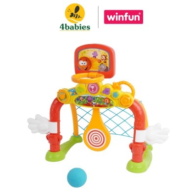 Bộ đồ chơi Cầu môn bằng nhựa 4in1 winfun 6001