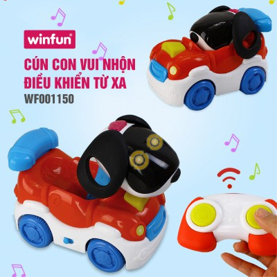 Ô tô hình cún con điều khiển từ xa Winfun 1150