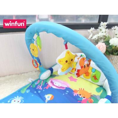 Thảm nằm chơi 3D đa năng hình đàn piano đại đương Winfun 0860-NL