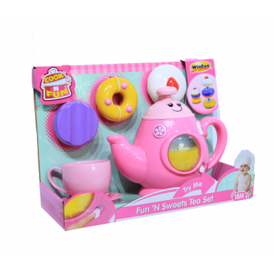 Đồ chơi ấm trà có nhạc Winfun 0754G