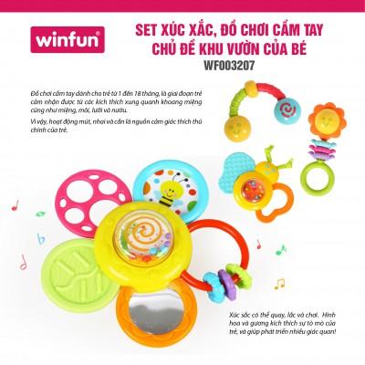 Set xúc sắc đồ chơi cầm tay Khu vườn của bé WF003207