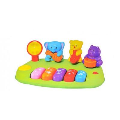 Đàn nhạc Piano đồ chơi động vật hoang dã mini