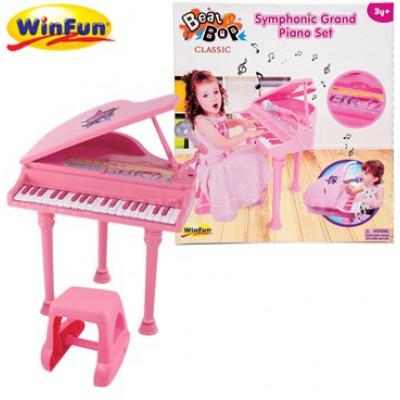 Đàn piano cổ điển kèm mic Winfun 2045