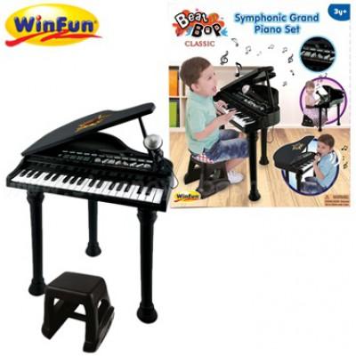 Đàn piano cổ điển kèm mic Winfun 2045G