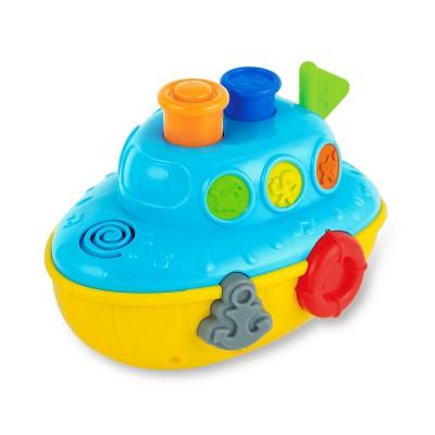 Tàu thủy phun nước có đèn nhạc