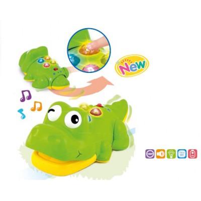 Cá sấu biết bò