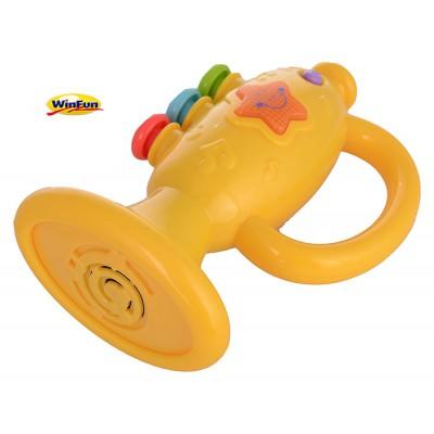 Kèn cầm tay trumpet có đèn nhạc
