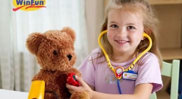 """Những bộ đồ chơi hỗ trợ """"định hướng nghề nghiệp"""" tự nhiên cho trẻ"""