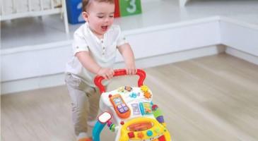 Ngay từ khi mới chào đời, mẹ Nhật đã rất quan tâm đến đồ chơi cho trẻ