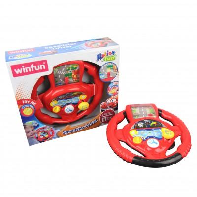 Vô lăng chơi game điện tử vui nhộn Winfun 1080