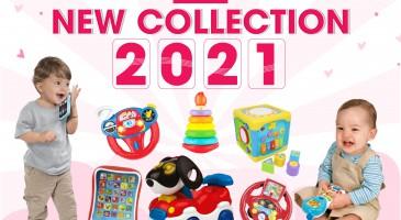NEW COLLECTION 2021- VUI CHƠI PHÁT TRIỂN CÙNG WINFUN