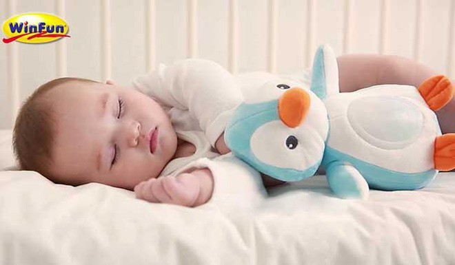 Thú bông cho bé ôm đi ngủ